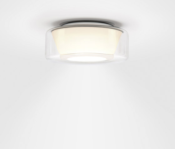 Curling Ceiling clear | reflector conical opal di serien.lighting | Illuminazione generale