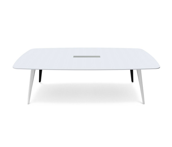 C12 Conference table by Holzmedia | Multimedia conference tables