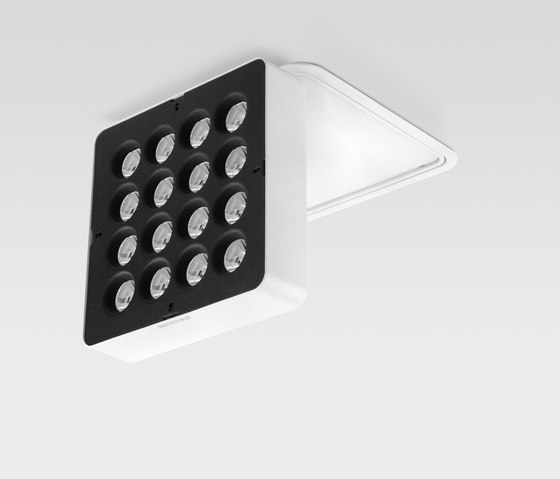 Splyt ceiling 16x with bezel di Reggiani | Lampade soffitto incasso