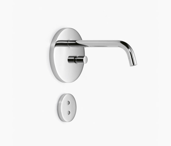 eMote / eTech - Wall-mounted infrared basin mixer by Dornbracht | Wash basin taps