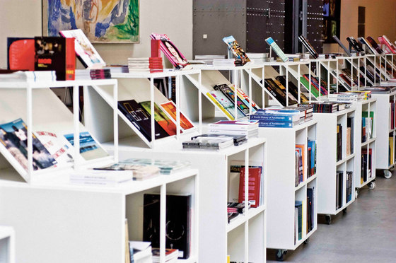 GRID bookcase by GRID System APS | Display stands