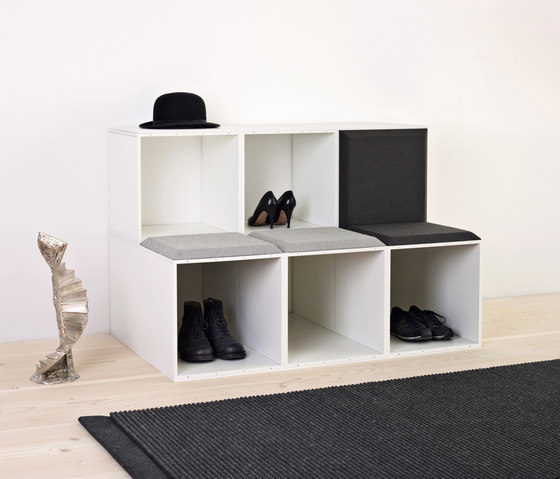 GRID wardrobe by GRID System ApS | Lockers
