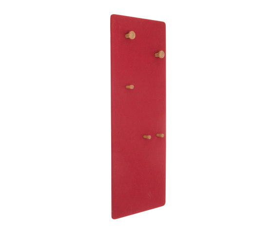 Coat rack panel, narrow DBV-294 di De Breuyn | Guardaroba a muro
