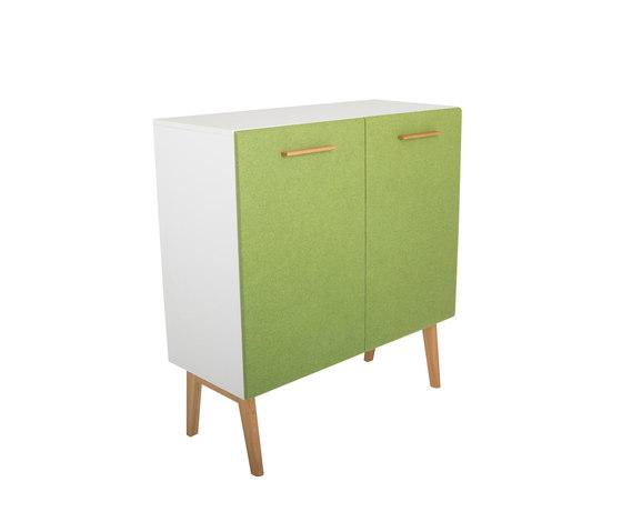 Big corpus, wide with two doors DBV-279 di De Breuyn | Kids storage furniture