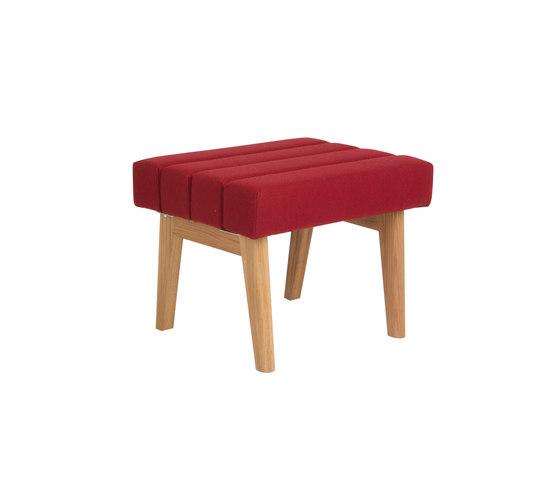 One-seater bench  DBV-280-01 by De Breuyn   Kids stools