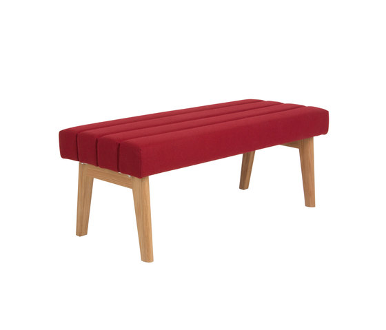 Two-seater bench  DBV-282-01 by De Breuyn | Benches