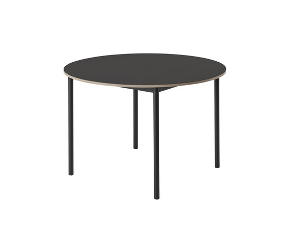 Base Table | round by Muuto | Dining tables