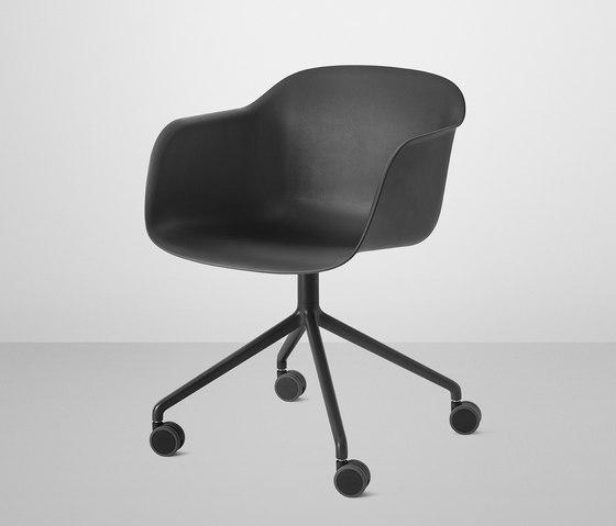 Fiber Chairs By Muuto Fiber Chair Sled Base Fiber