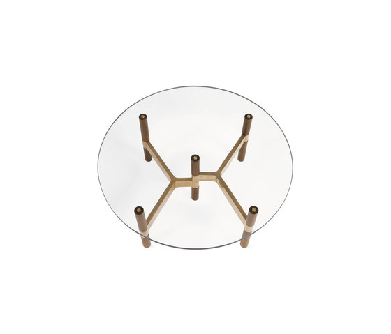 Helix Coffee Table Round by Design Within Reach   Coffee tables