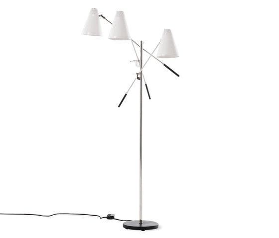 Tri-Arm Floor Lamp de Design Within Reach | Luminaires sur pied