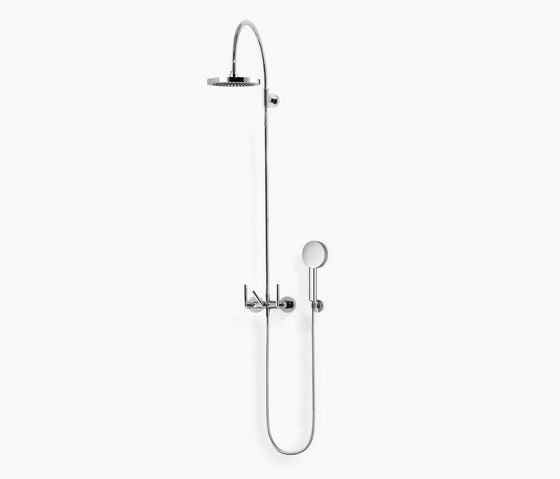 Tara. - Shower mixer with shower with fixed riser by Dornbracht | Shower controls