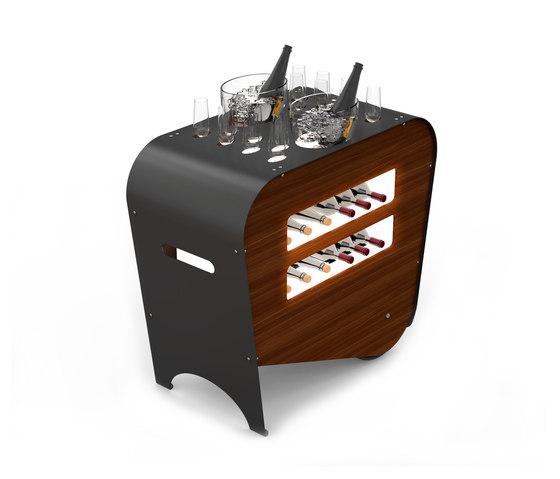 Esigo Wine Trolley by ESIGO | Tea-trolleys / Bar-trolleys