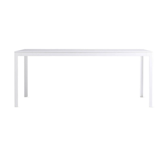 Min Table, Large – Steel Top von Design Within Reach | Esstische