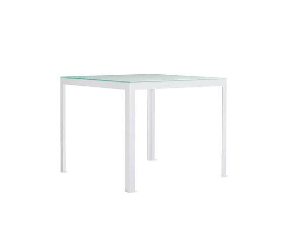 Min Table, Small – Glass Top von Design Within Reach | Esstische