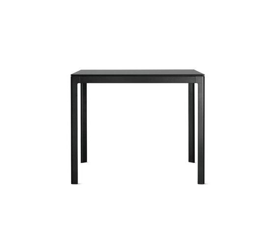Min Table, Small – Steel Top von Design Within Reach | Esstische