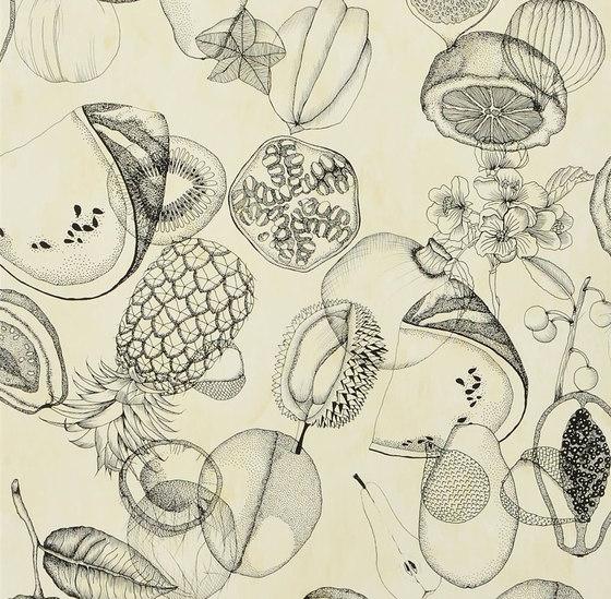 Nouveaux Mondes Wallpaper | Agua Parati - Amande von Designers Guild | Dekorstoffe