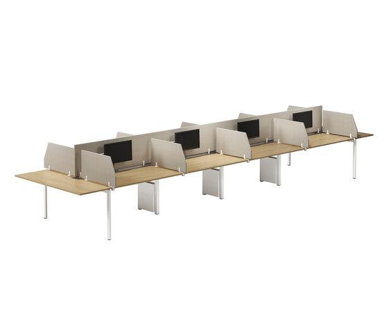 Nexus de Kinnarps | Sistemas de mesas