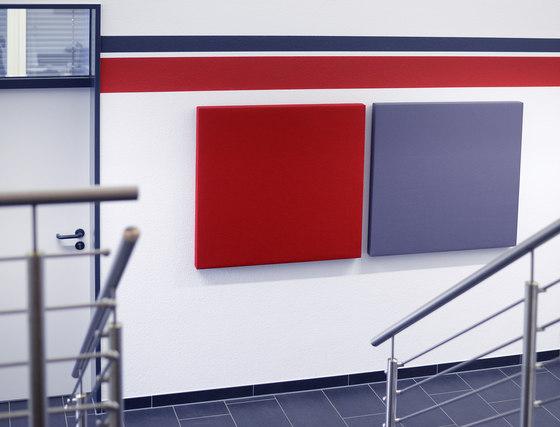 AGORApanel | Akustikpanel quadratisch de AGORAphil | Sistemas fonoabsorbentes de pared