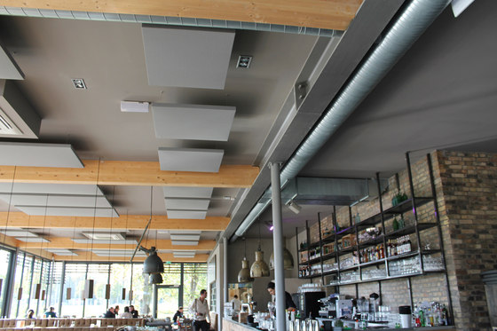 AGORAceiling | Deckensegel by AGORAphil | Acoustic ceiling systems
