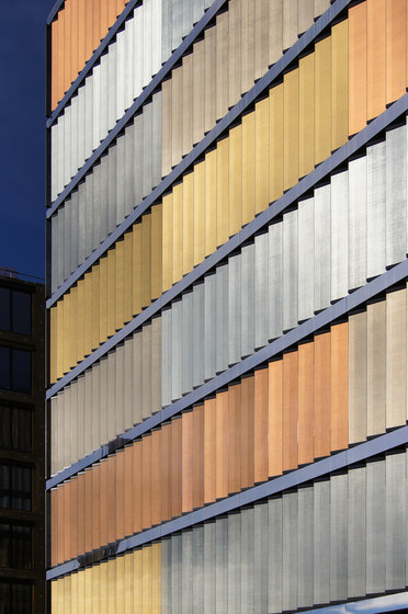 SEFAR® Architecture VISION PR 260/25 Gold | In-situ by Sefar | Composite panels