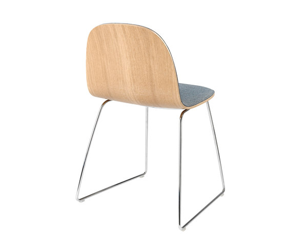 Gubi 2d Chair By Gubi Wood Base Center Base