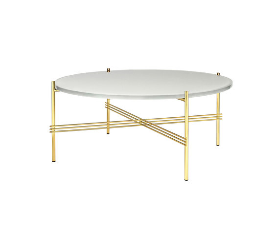 TS Table Ø80 de GUBI | Mesas de centro
