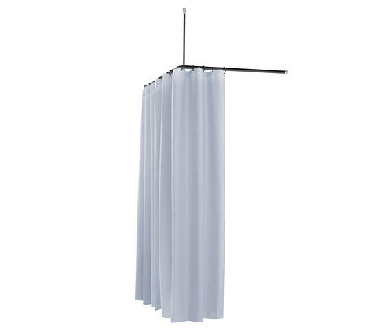 fsb ergosystem a100 curtain rail easy access showers. Black Bedroom Furniture Sets. Home Design Ideas