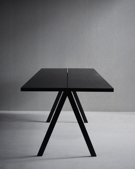 Saw Table 2-parts by Friends & Founders | Dining tables