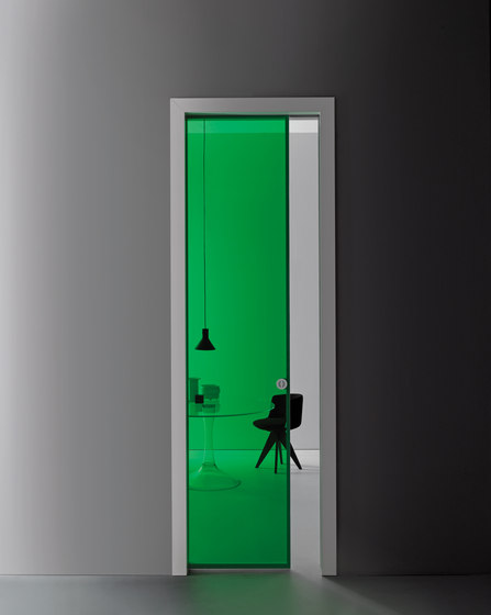 Aladin Pocket Frame by Glas Italia | Internal doors
