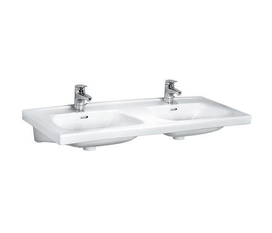 Moderna/ Moderna R | Lavabo double à poser sur meuble de Laufen | Lavabos
