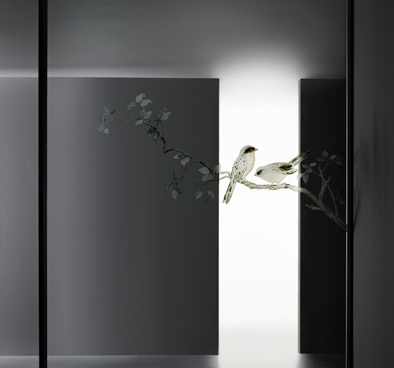 Aladin Slide Duo de Glas Italia | Glass room doors