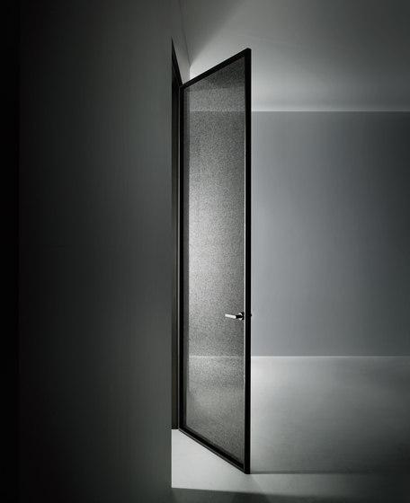 Aladin Swing Plain Mono by Glas Italia | Glass room doors