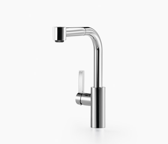 Elio - Single-lever mixer with extending spray by Dornbracht | Kitchen taps