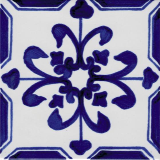 LR Giglio blu de La Riggiola   Carrelage céramique