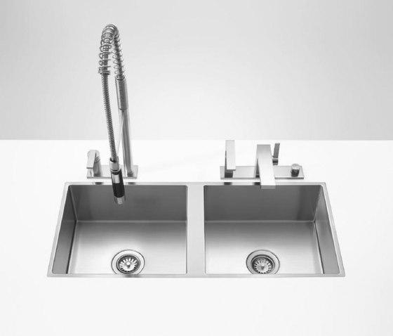 Water Units - Double sink by Dornbracht | Kitchen sinks