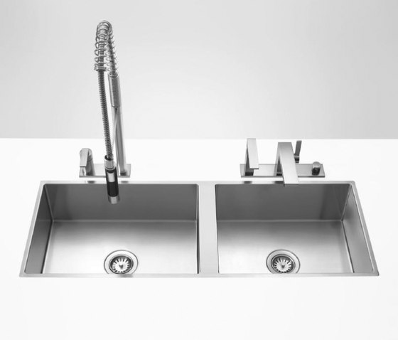 Water Units - Double sink by Dornbracht | Kitchen sinks