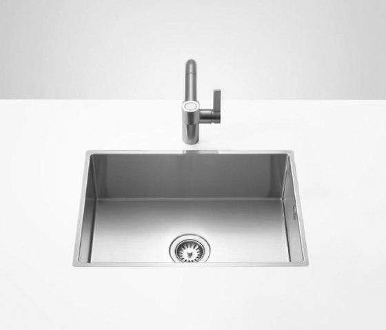 Kitchen sinks in brushed stainless-steel - Einzelbecken von Dornbracht | Küchenspülbecken