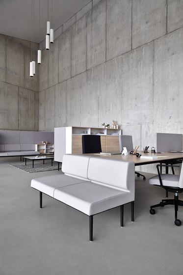 Longo Softseating by actiu | Lounge-work seating