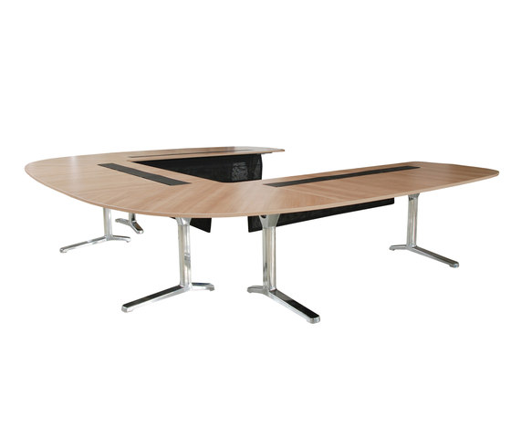 pulse conference table di Wiesner-Hager | Tavoli contract