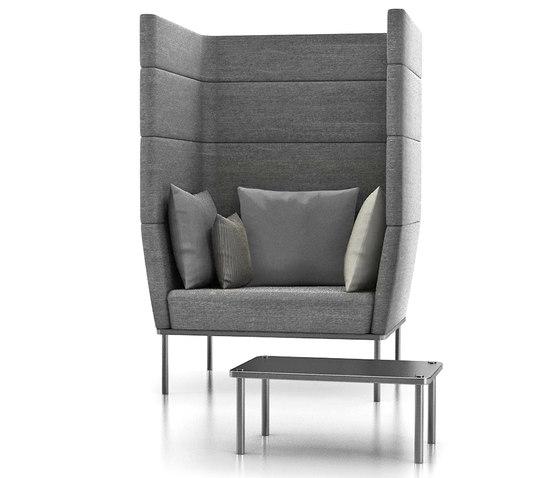 element lounge seating von Wiesner-Hager | Sessel