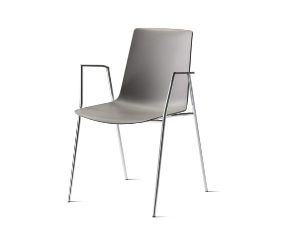 nooi meeting and café chair de Wiesner-Hager | Sillas
