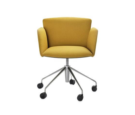 Vela Executive low-backrest chair von Tecno | Stühle