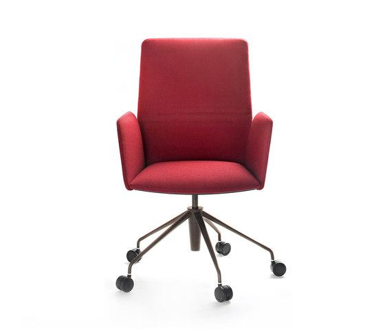 Vela Executive high-backrest chair de Tecno | Sillas