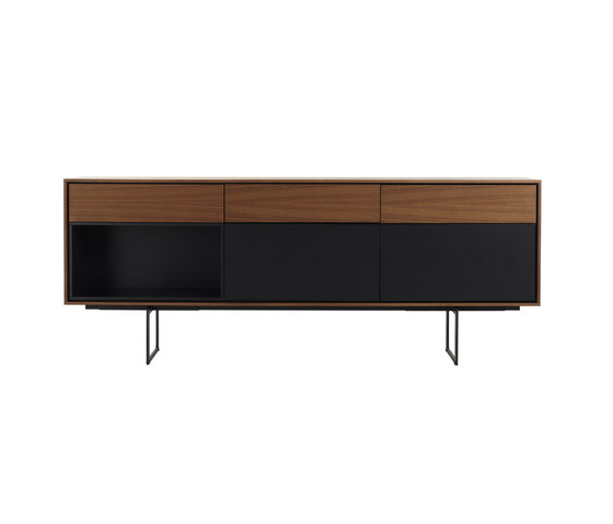 aura credenza sideboards kommoden von design within reach architonic. Black Bedroom Furniture Sets. Home Design Ideas