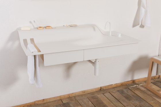 Private Space Washstand Wall by ellenberger | Wash basins