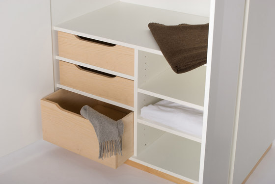 Private Space Large Closet by ellenberger | Cabinets