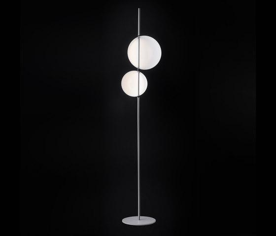 Superluna | 397 de Oluce | Luminaires sur pied