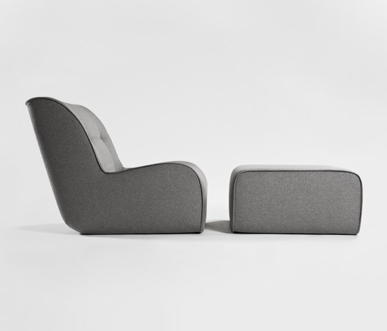 Zulu Armchair and Ottoman by Comforty   Armchairs