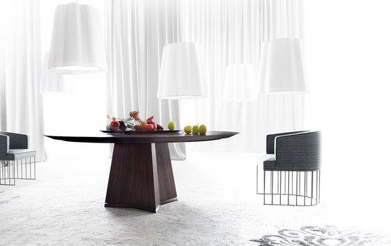 Pensami round by Erba Italia | Dining tables