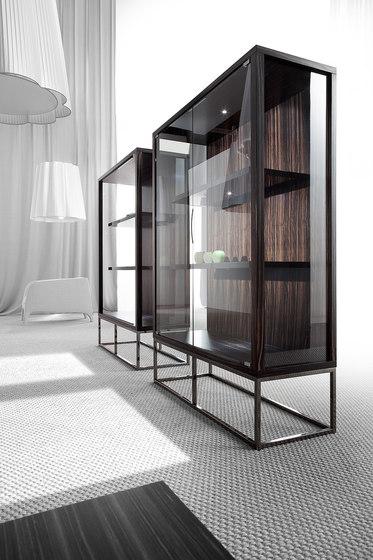 Pensami glass cabinet by Erba Italia | Display cabinets